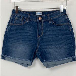 Old Navy blue jean shorts size girls 16